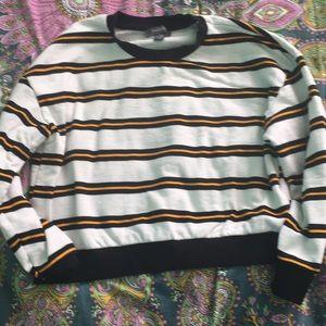Striped sweatshirt. Never worn